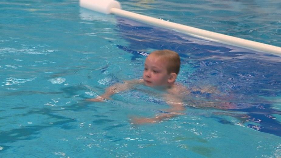 Afzwemmen Jamie